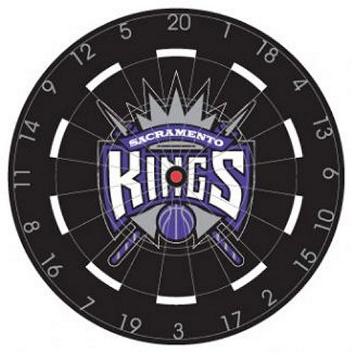 NBA Sacramento Kings 18'' Bristle Steel Tip Dart Board-Limited Quantity!! by Imperial