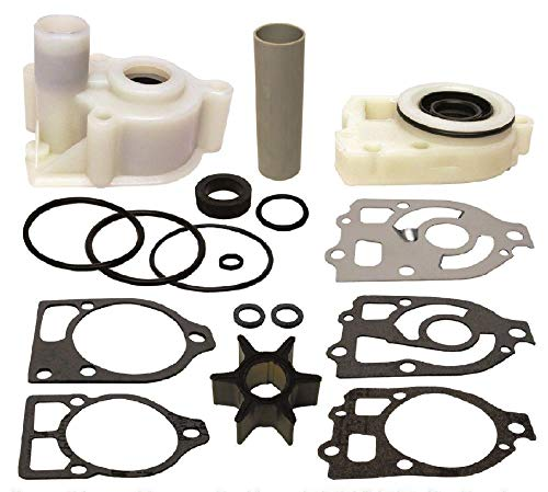 (Water Pump Impeller Housing Kit for Mercruiser Alpha 1 Gen One 1985-1990 Replaces 18-3320)