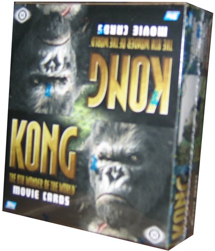 King Kong The Movie '8Th Wonder Of The World' Trading Cards HOBBY Box - 24P