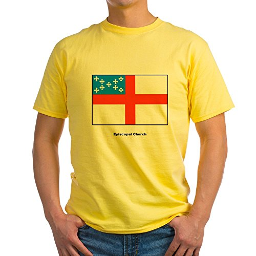 Flag Front Ash Grey T-shirt - CafePress Episcopal Church Flag (Front) Ash Grey T Shirt 100% Cotton T-Shirt