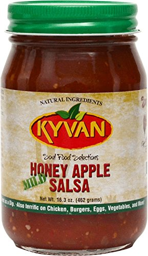 KYVAN Mild Honey Apple Salsa - 2 Pack