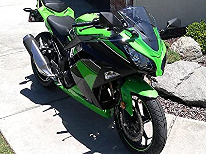 Moto Onfire Green Black ABS Injection Plastic Fairing Kit For Kawasaki Ninja 300 EX300R ZX300R 2013 2014 2015 2016