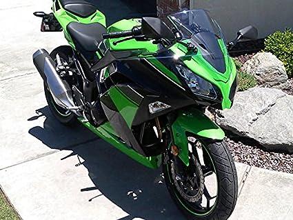 Moto Onfire Green Black ABS Injection Plastic Fairing Kit For Kawasaki Ninja 300 EX300R ZX300R 2013 2014 2015 2016