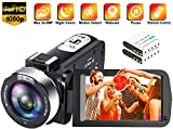 Best Hd Camcorder Under 200s - Video Camera Camcorder Full HD 1080P 30FPS 24.0 Review