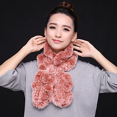 feieb) bufanda corbata pelo pañuelo invierno coreano de lana de ...