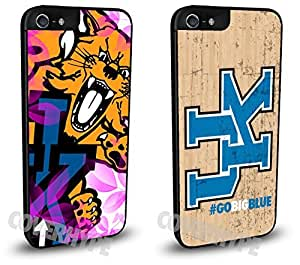 Kentucky Wildcats Cell Phone Hard Plastic Case TWO PACK for iPhone 4 4s