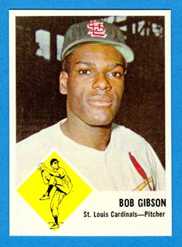 Bob Gibson 1963 Fleer Baseball Reprint Card (Cardinals)
