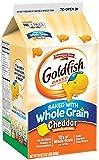 Pepperidge Farm, Goldfish, Crackers, Made with Whole Grain, Cheddar Cheese, 30 oz, Carton