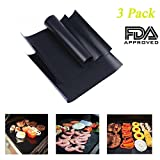 Best Grill Mat With None Sticks - Grilling Pads, MoreTeam Non-Stick Grilling Mat, Baking Mat Review