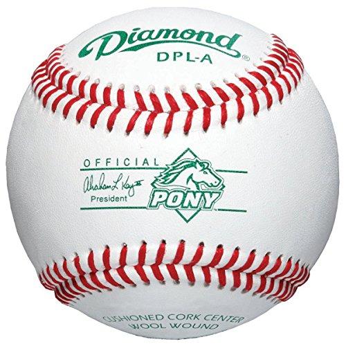 - Diamond Sports DPL-A Pony League Tournament Grade Baseball (12-Pack)