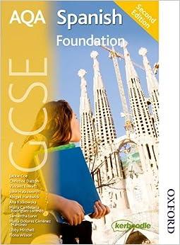 Book AQA GCSE Spanish 2nd edition Foundation Student Book