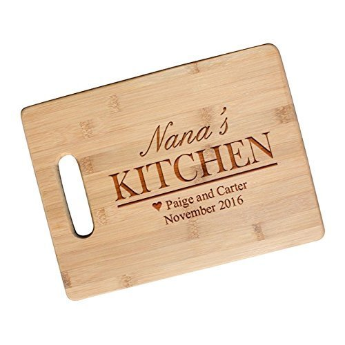 Personalized Moms Kitchen Gift Cutting Board for Mom Gifts Grandma Friend Engraved Motheru0027s  sc 1 st  Amazon.com & Amazon.com: Personalized Moms Kitchen Gift Cutting Board for Mom ...