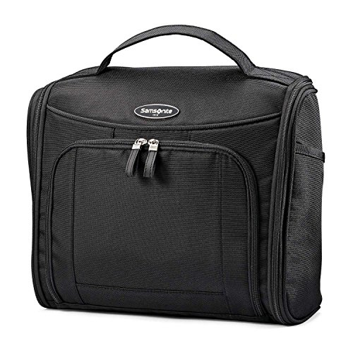 (Samsonite Large Toiletry Kit, Black)
