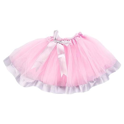 JERKKY Falda de tutú Falda de tutú de Baile de Ballet para niñas ...