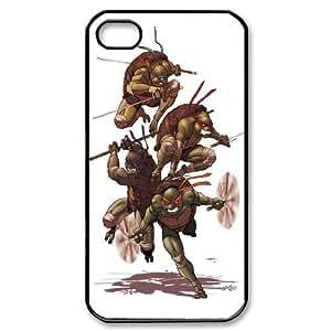 FOR Iphone 4 4S case cover -(DXJ PHONE CASE)-Teenage Mutant Ninja Turtles-PATTERN 15