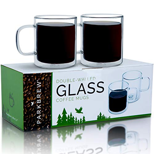 Double Walled Glass Mugs Pack product image