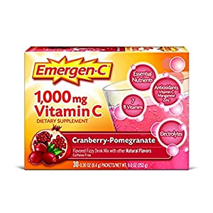 Emergen C Dietary Supplement Drink Mix with 1000 mg Vitamin C.