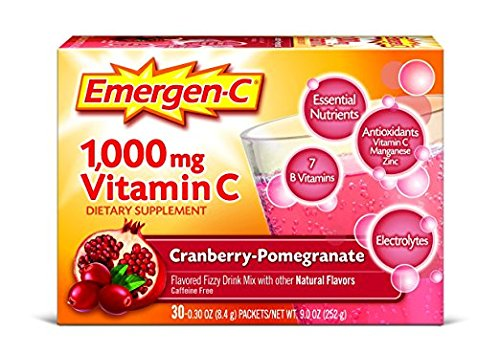 Emergen C Dietary Supplement Drink Mix with 1000 mg Vitamin C,..