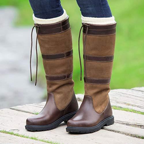 Boots Moretta Long Brown Teo Shires SFxwU0qw