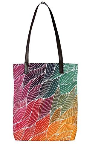 Snoogg 5452 Strandtasche mehrfarbig mehrfarbig LTR ToteBag BL pwqUSpXx