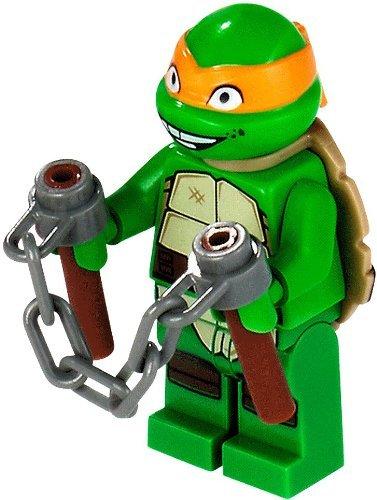 Lego Teenage Mutant Ninja Turtles Michelangelo Minifigure