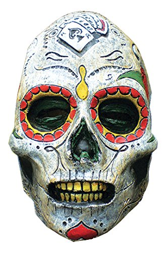 Day Of The Dead Zombie Halloween Mask (Halloween Mask- Day Of The Dead Zombie Latex Mask -Scary Mask)