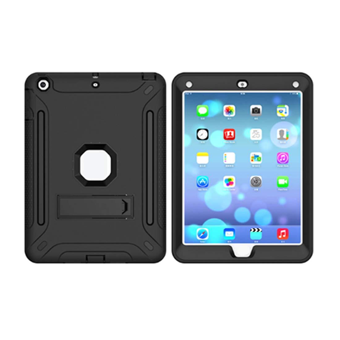 【人気急上昇】 KRPENRIO 頑丈 iPad5ケース 頑丈 スリム 耐衝撃 シリコン 保護ケースカバー 耐衝撃 9.7インチiPad用 (ネイビーブルー B07L8CR7MH/蛍光オレンジ) (カラー:ブラック、サイズ:iPad2017) B07L8CR7MH, ハローファニチャー:27623353 --- a0267596.xsph.ru