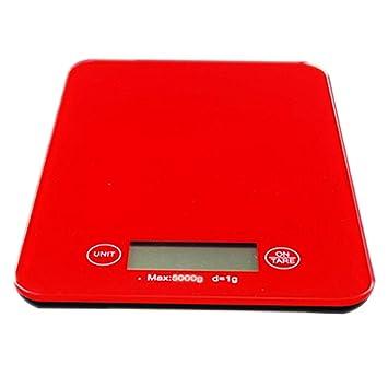 DPPAN Electrónica Báscula de Cocina Balanza de Alimentos, Vidrio Digital Peso de Cocina, 11