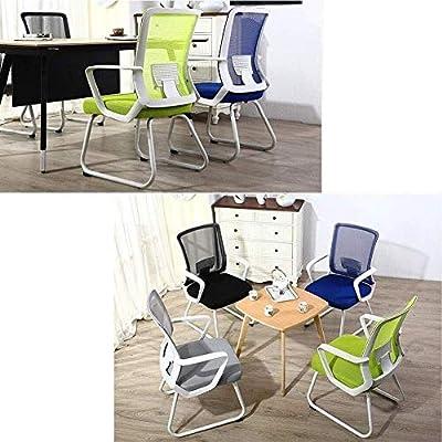 Amazon.com: Silla de oficina de tela de malla, cómoda silla ...