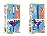 Flair Felt Tip Pens, Medium Point (0.7mm), Blue, 12 Count