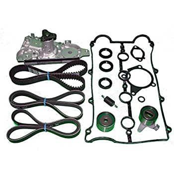 TBK Timing Belt Kit Compatible With Kia Rio 2001 to 2002 1.5L
