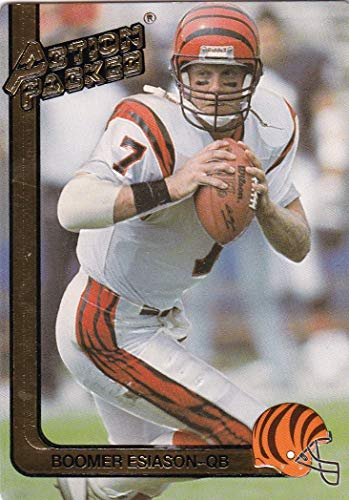 - 1991 Action Packed with Rookie Update Cincinnati Bengals Team Set with Boomer Esiason & Anthony Munoz - 12 NFL Cards