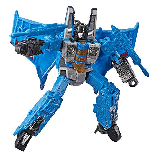 """Transformers Toys Generations War for Cybertron Voyager Wfc-S39 Thundercracker Action Figure - Siege Chapter - Adults & Kids Ages 8 & Up, 7"""""""