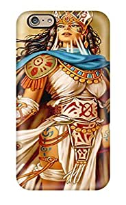 Ideal Heatffey Case Cover For Iphone 6(native American Warrior Fantasy Women Abstract Fantasy), Protective Stylish Case