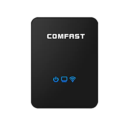 TTTK Comfast CF-WR150N 300Mbps Portable Wireless Wifi Repeater 802.11b/g/n