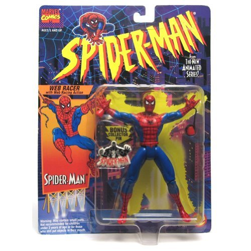 SPIDER-MAN ANIMATED SERIES:WEB RACER SPIDER-MAN ACTION FIGURE