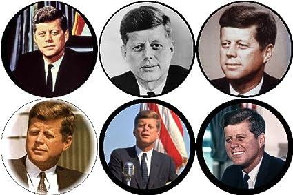 Amazon Com Set Of 6 Jfk John F Kennedy Magnets 35th President