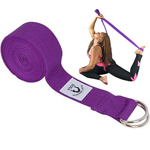Best Yoga Strap for Physical Therapy Exercise Stretching