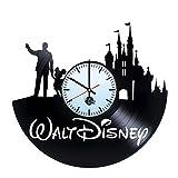 Walt Disney World Vinyl Record Wall Clock - Get unique living room wall decor - Gift ideas for friends, baby, children, kids – Disney Unique Art Design - Leave us a feedback and win your custom clock