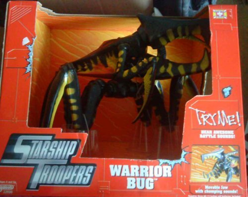 Galoob STARSHIP TROOPERS WARRIOR BUG w/Sound Mint In Package by Galoob (Mint Warriors)