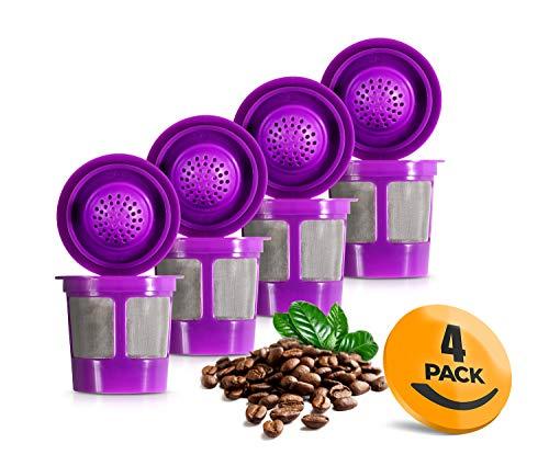 Reusable K-Cups for Keurig 1.0 & 2.0 Machines 4-Pack