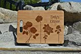 Best Engraved Cases Gifts For Mothers - Personalized bamboo cutting board engraved custom boards Personalized Review