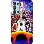 Joe Designer Printed Back Case Cover for Oppo Reno 6 Mobile (Multicolor) art17