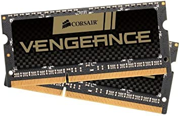 Corsair Vengeance 8GB (2x4GB) DDR3 1600 MHz (PC3 12800) Laptop Memory (CMSX8GX3M2A1600C9)