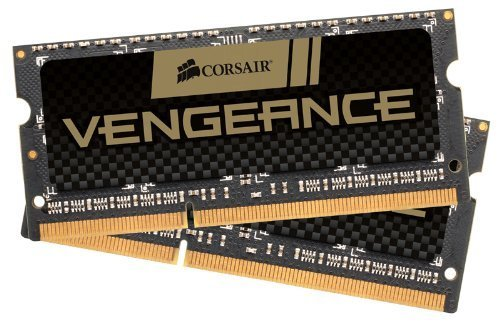 CORSAIR Vengeance 16GB (2x8GB) 204-Pin DDR3 SO-DIMM DDR3 1600 (PC3 12800) Laptop Memory Model CMSX16GX3M2A1600C10 by Corsair