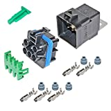 GM 12193611 Automotive Relay and Socket Kit (Same as Omron G8W-1C6T-R-DC12)
