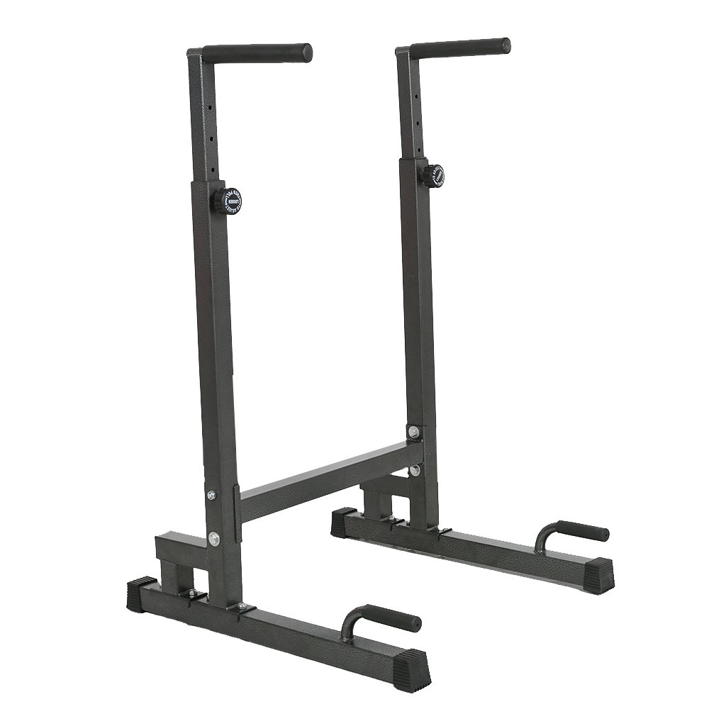 Lucky Tree Adjustable Strength Training Exercise Power Rack Exercise Stand Bar for Home Gym by Lucky Tree