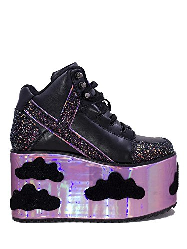 Night Sneakers Sky Platform Sky HI Qozmo Black in YRU zxa6Uqw