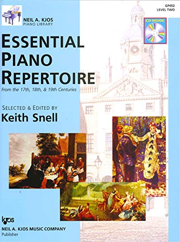 Essential Piano Repertoire - GP452 - Essential Piano Repertoire of the 17th, 18th, & 19th Centuries Level 2