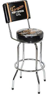 Amazon Com Harley Davidson Bar Shield Bar Stool Harley Davidson